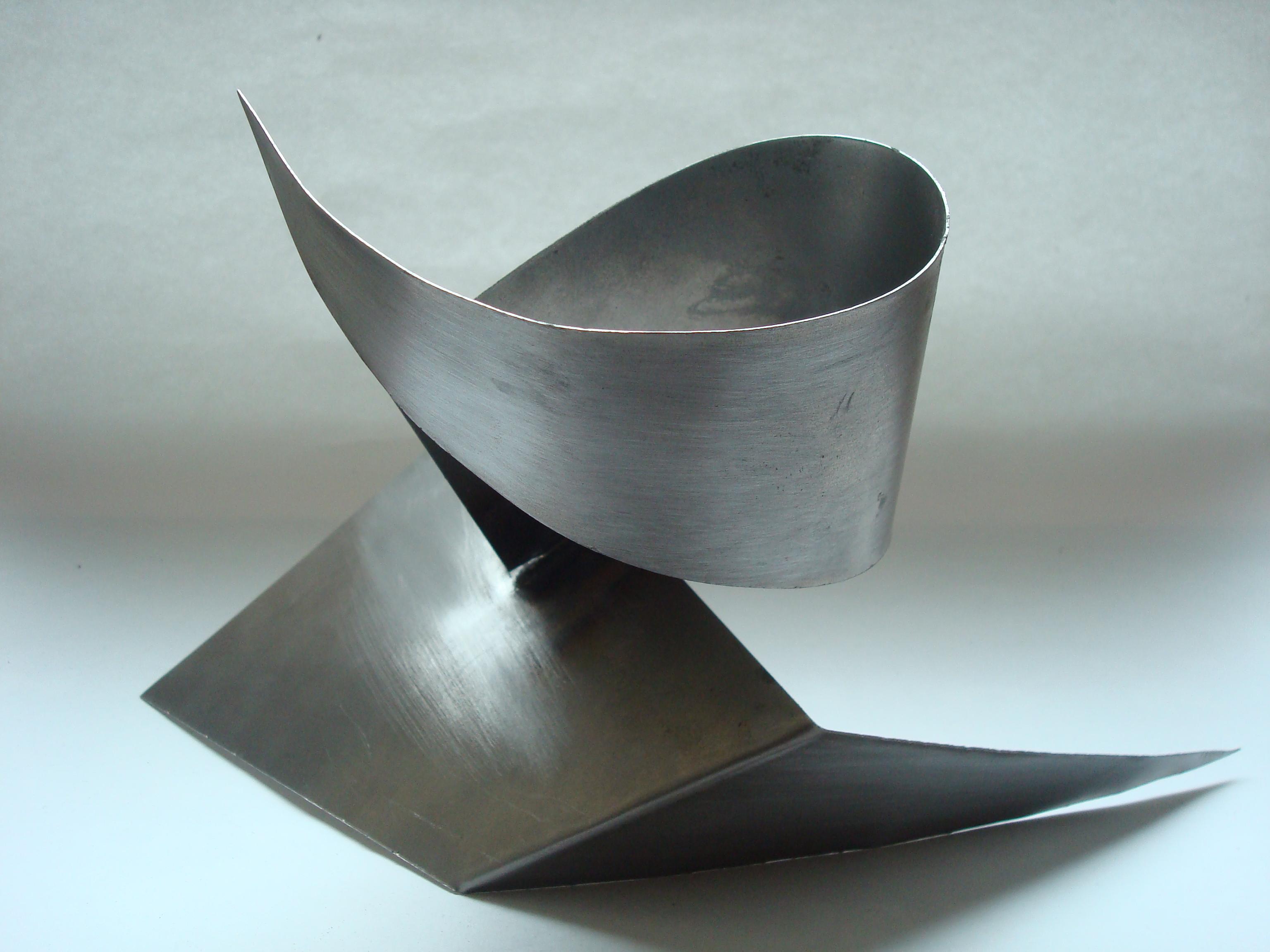 Renewed metal sculpture eddie roberts
